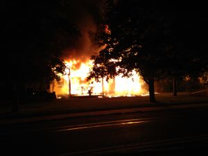 Bayport residents alerted to house fire by passers-by, cops say